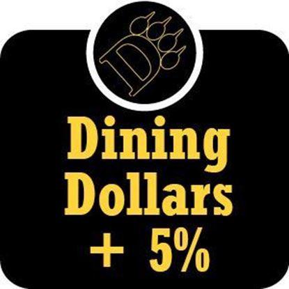 Picture of $50 - $100 ODU Dining Dollars Plus 5% Bonus